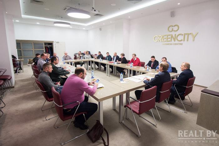 Участие в заседании «Белорусской ассоциации «Недвижимость»