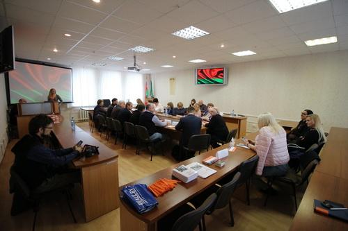 Участие в заседании «круглого стола» в Главном управлении юстиции Гомельского облисполкома