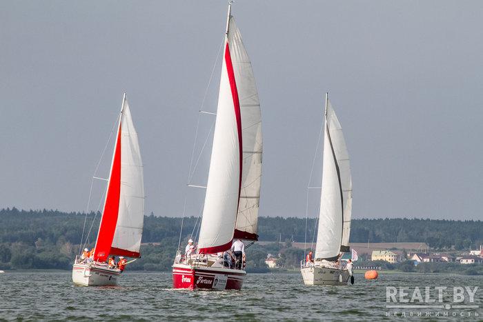 Наша компания заняла почетное второе место в парусной регате «Realt sailing cup 2018»!